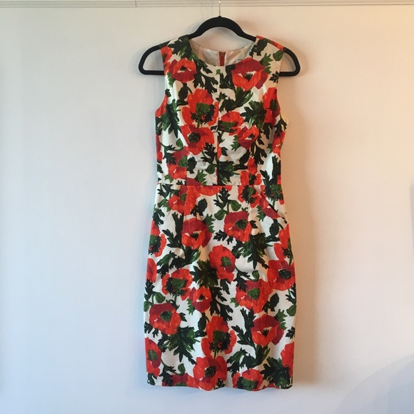 48394e7e88 Milly Dresses | Colette Poppy Floral Dress Size 8 | Poshmark